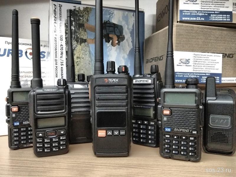 Портативные радиостанции для охоты охраны чоп чоо строителям и частным лицам